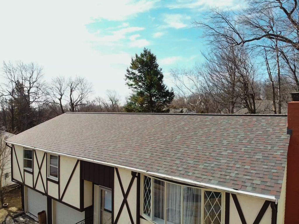 Roof Installation - Owens Corning Duration Colonial Slate Shingles in Worcester, MA