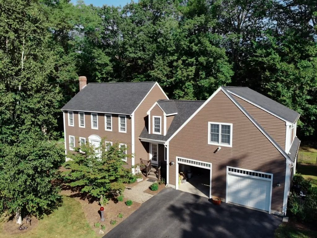 Roof Replacement - CertainTeed Landmark Pro Charcoal Black Shingles in Rutland, MA